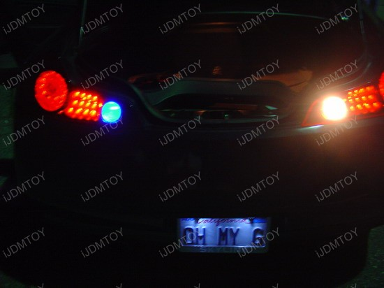 Infiniti - G35 - white - led - backup - reverse - lights - 1